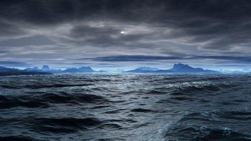 rough ocean by Jacqueline Fasser